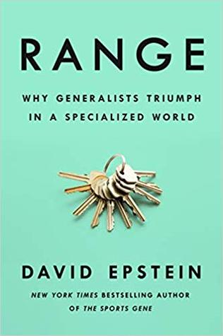 book cover range by david epstein