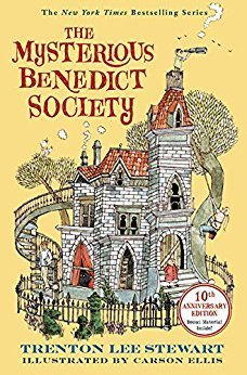 Mysterious Benedict Society middle grade series