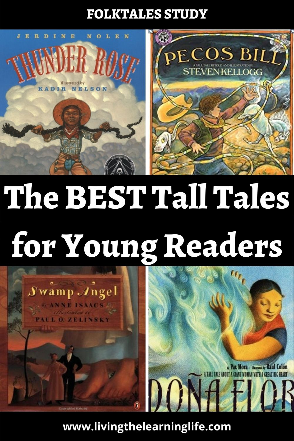 Eight tall tales picture book recommendations