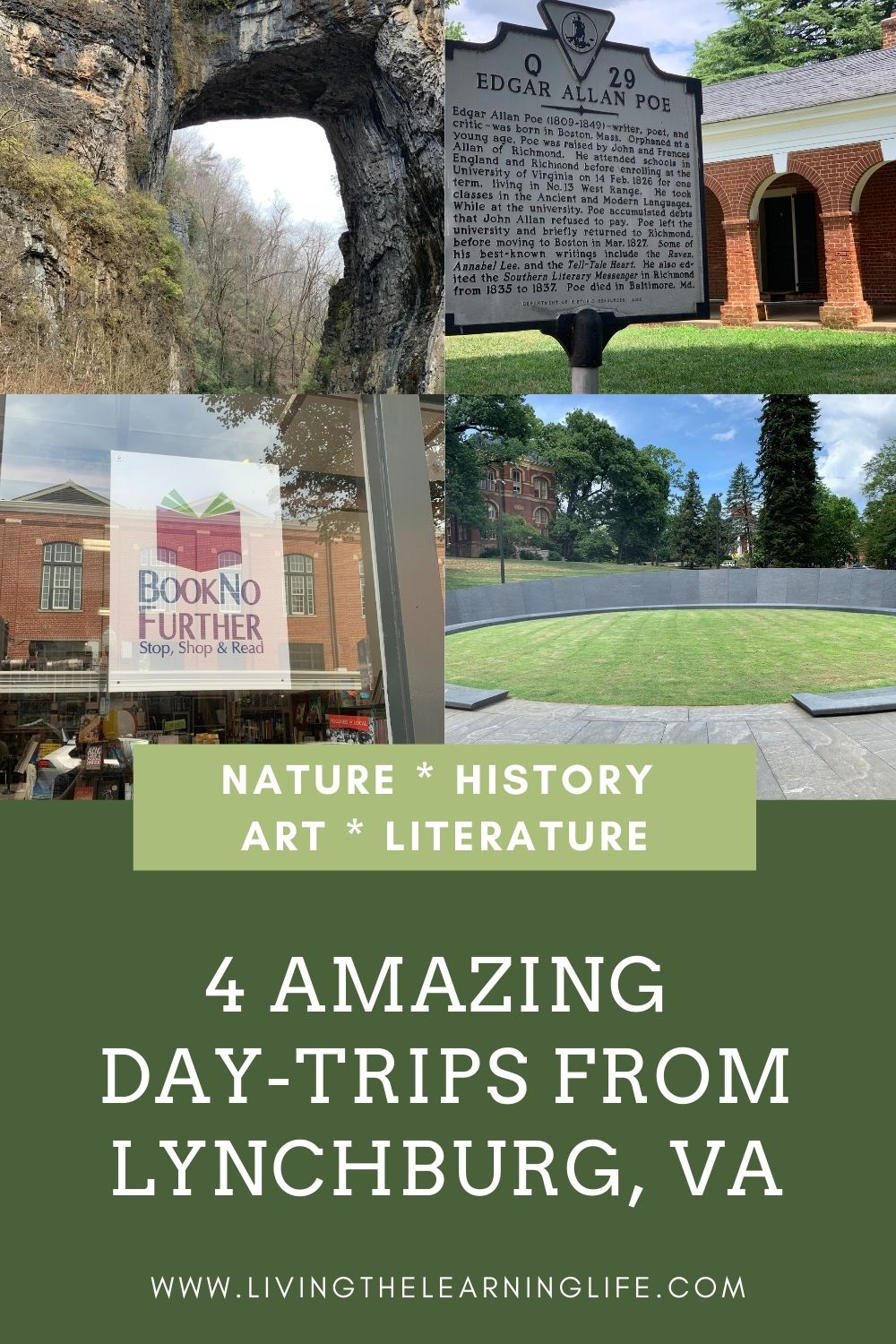 day trips nature history art literature