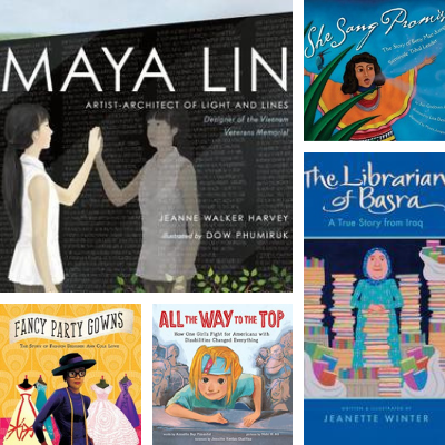 75 Picture Books About Amazing Women