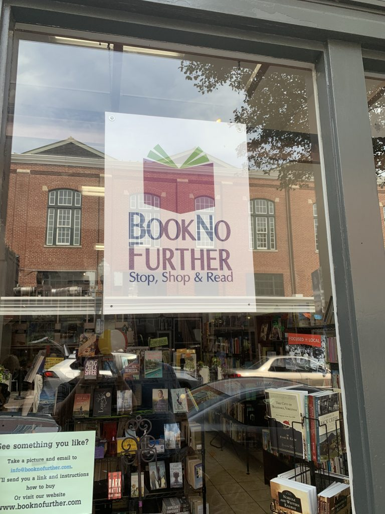 book no further sign