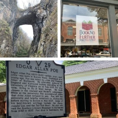 Four Day-Trips from Lynchburg, Virginia