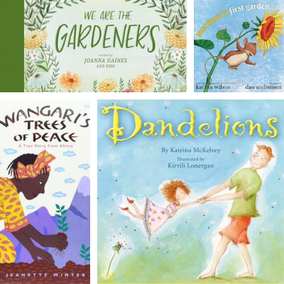Ten Picture Books about Gardening