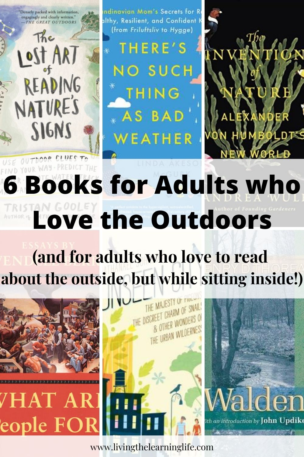 books for adults who love the outdoors