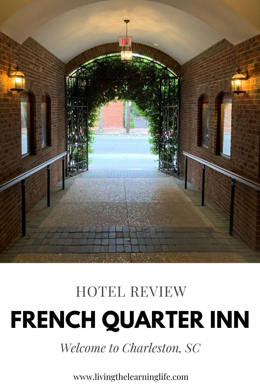 hotel review french quarter inn