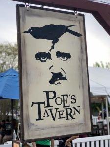 poe's tavern sign sullivan island