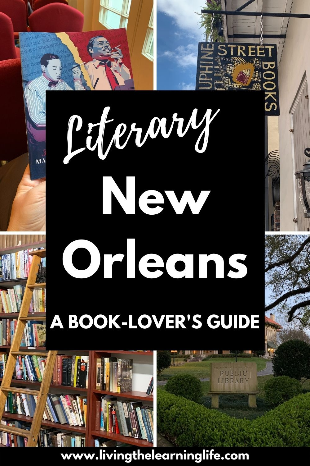 literary new orleans book-lover's guide