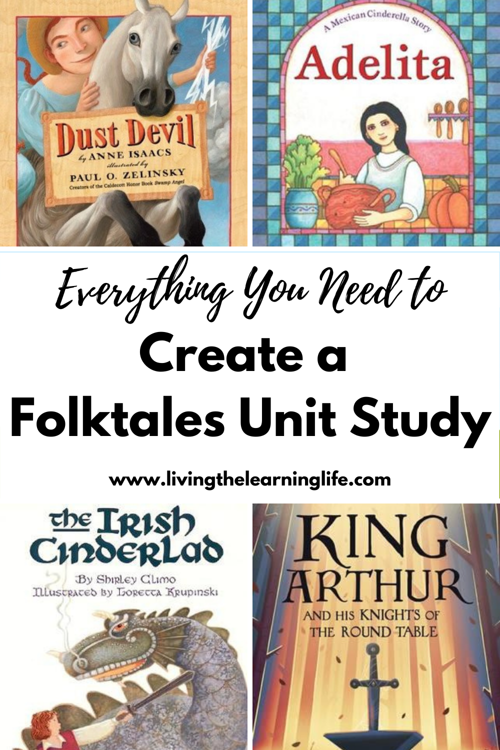 everything you need to create a folktales unit study