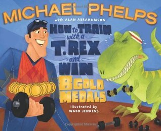 picture books about sports train with a t. rex