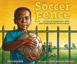 soccer fence picture book